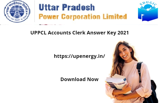 UPPCL Accounts Clerk Answer Key 2021