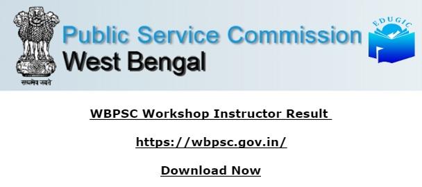 WBPSC Workshop Instructor Result