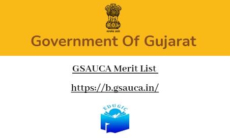 GSAUCA Merit List
