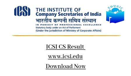 ICSI CS Result