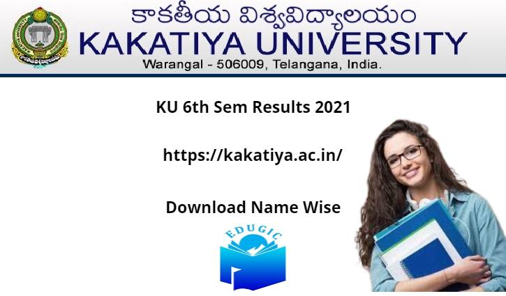 KU 6th Sem Results 2021