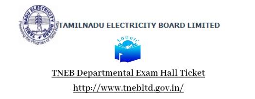 TNEB Departmental Exam Hall Ticket