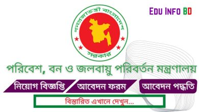 Photo of Ministry of Environment And Forests (MOEF) Job Circular 2021 [APPLY NOW]