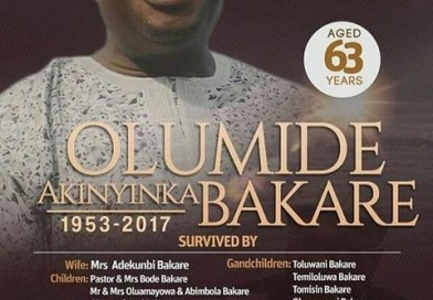 See Obituary Of Late Actor, Olumide Bakare (Pictured)
