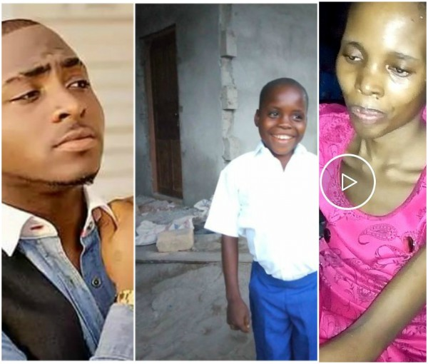 Utibe The Boy Who Davido Promised To Take Care For Life Loses Mom