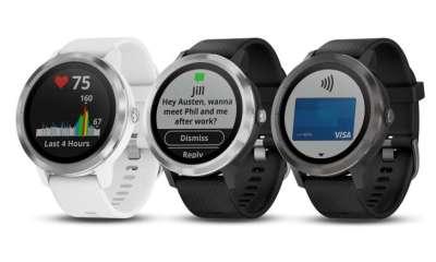 Garmin's vívoactive 3 smart watch