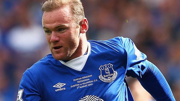 Wayne Rooney Everton Striker