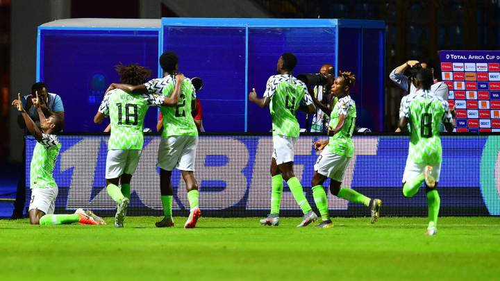 Nigeria beat Guinea 1-0 in AFCON 2019