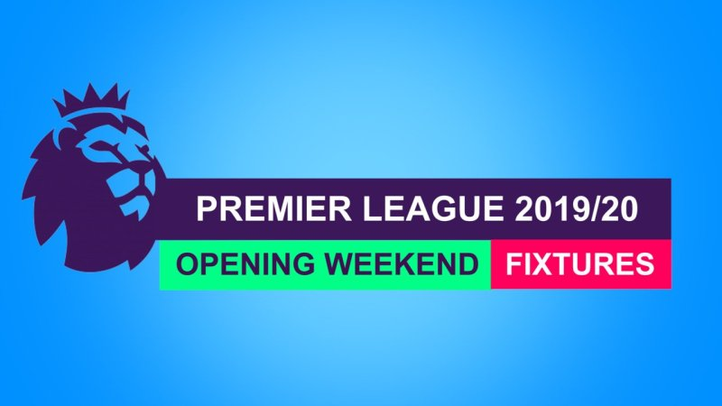 Premier League Fixtures 2019/20 Released In Full