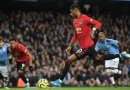 Rashford and Martial dent City title hope as they go 14pts behind Reds