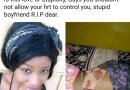 Jealous Lover Stabs Girlfriend To Death For Picking Another Man's Call (Graphic Pix)