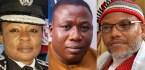 Nnamdi Kanu warns Oyo CP, Ngozi Onadeko over Sunday Igboho.. Reveals why IGP posted her to Oyo State