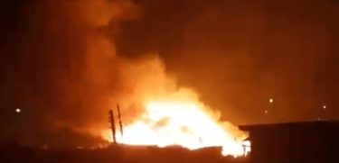 70 shops damaged in Lagos market fire