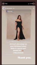 WAR CONTINUES! Chioma replies Davido's birthday post to her
