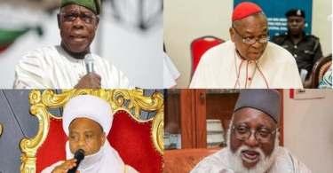 Obasanjo, Ooni, Sultan, Abdulsalami Abubakar, Onaiyekan, others keep mum after 8-hour closed-door meeting