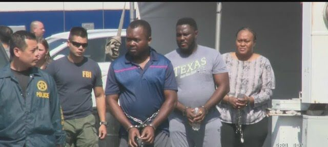 33 Nigerians on trial in Texas for romance scams (The Full List)