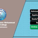 Birshreshtha Noor Mohammad Public College HSC Admission