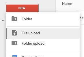 Sharing videos without Youtube by using Google Drive