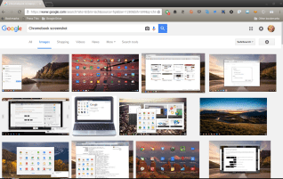 Taking screenshots with a Chromebook
