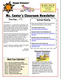 2018 08 school newsletter ideas free school classroom newsletter