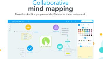 mindmeister is a mind mappingbrainstormingnote takingetc web app - Online Free Mind Map