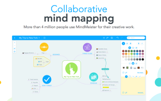 MindMeister is a mind mapping/brainstorming/note taking/etc web app
