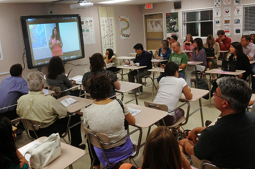 The University of Kentucky has created 18 active learning classrooms