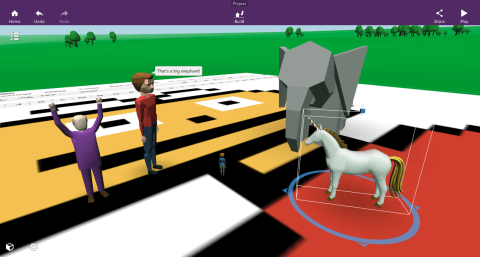 Look, CoSpaces has a unicorn!