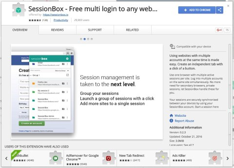 screenbox multiple logins