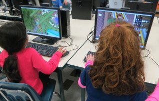 Self-publishing and using Minecraft with young writers