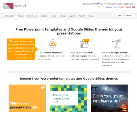 Free Google Slides And Powerpoint Templates From Slides