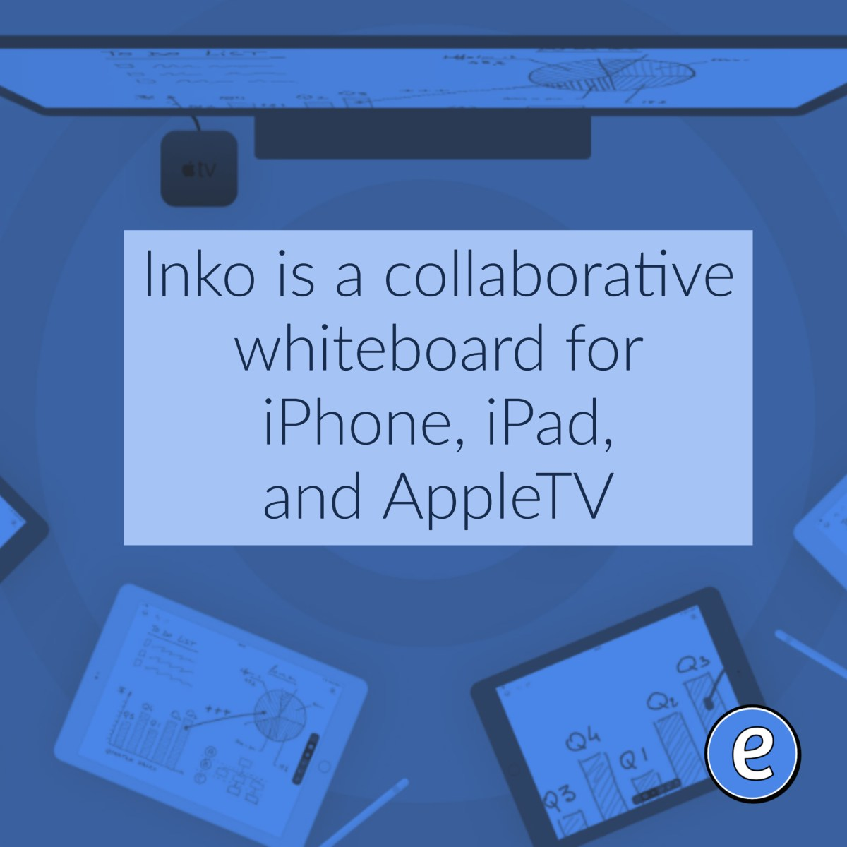 Inko is a collaborative whiteboard for iPhone, iPad, and AppleTV