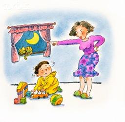 enfadada madre Consulta: evitar tener mal genio y no gritar a los niños