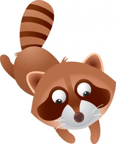 caricatura de mapache marron e1340015268236 Cuento para ayudar al niño a comprender las emociones de los demás