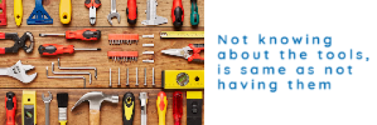 Edukers - Know your Tools