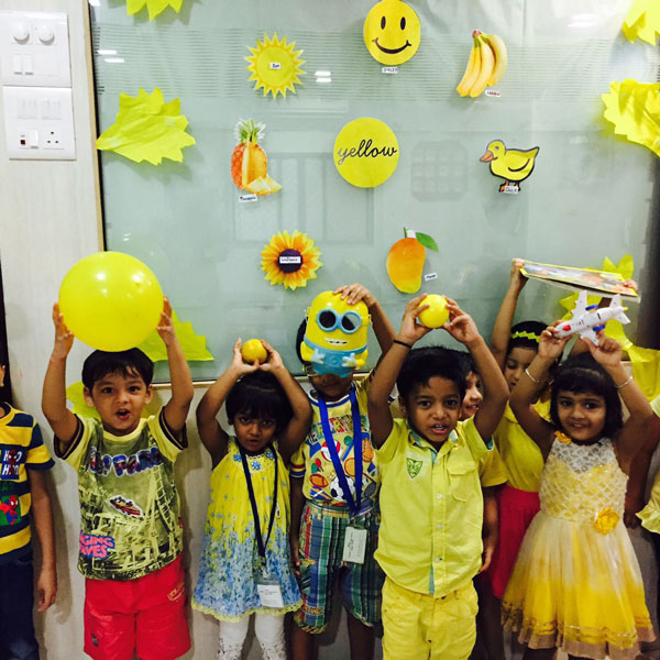 Yellow Colour Day Edukidz International