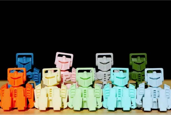 Eleven new colours will be added to the UP ABS filament range