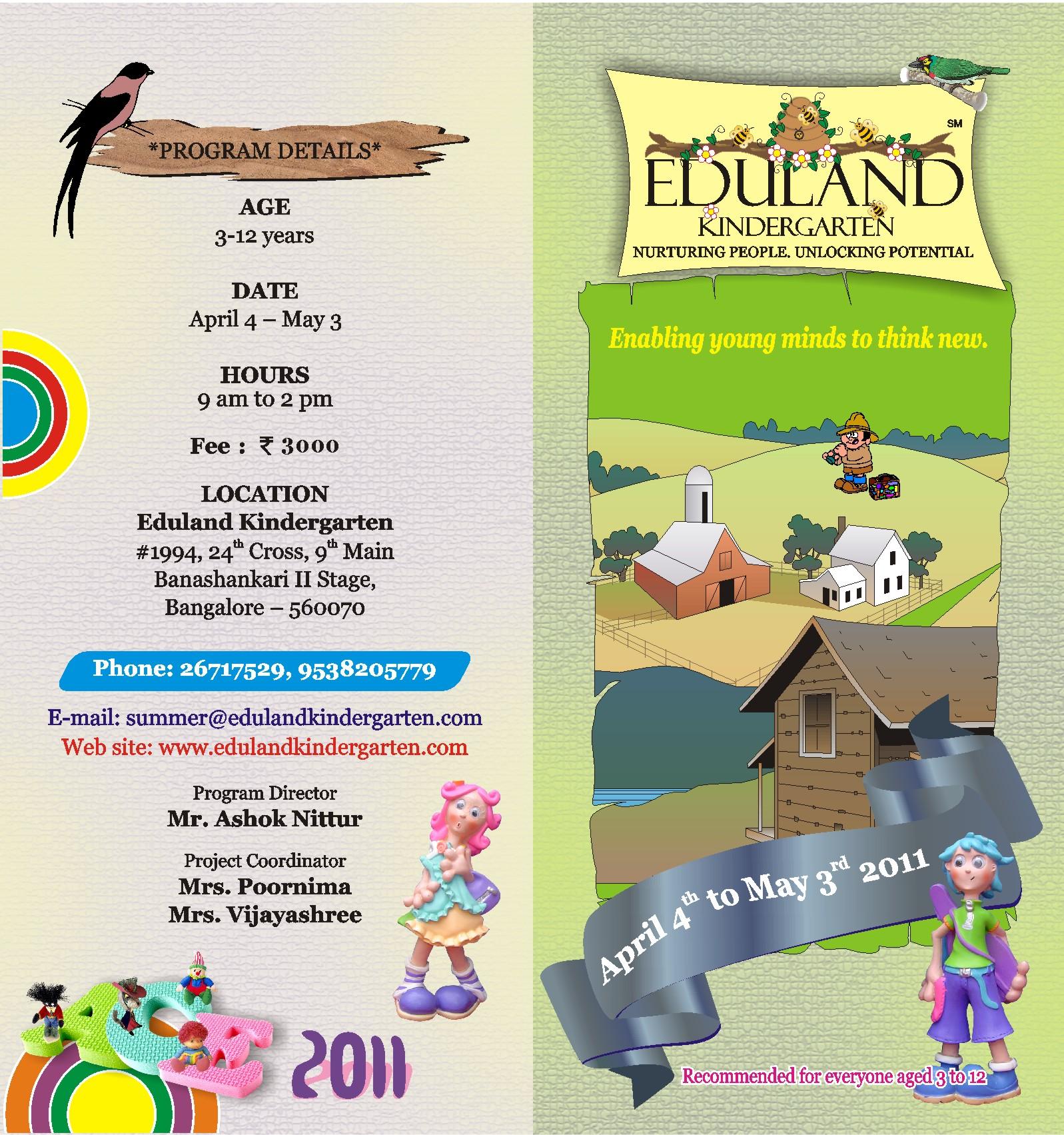 Printables Of Summer School For Kindergarten