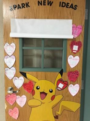 Angela Bazzo Classroom Door