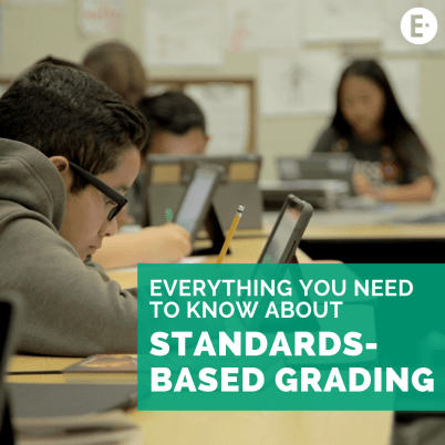 Standards-Based Grading cover photo. Everything you need to know about SBG!