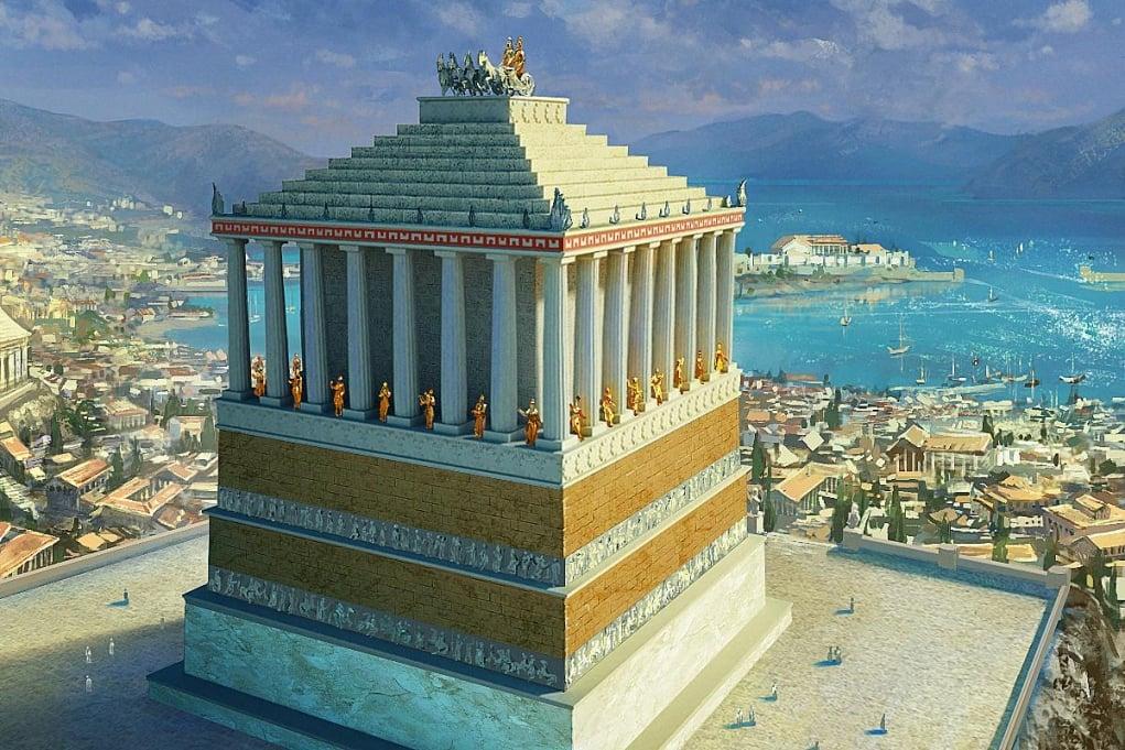 6. Haliskarnas Mausoleum (350 BC - Bodrum, Turkey)