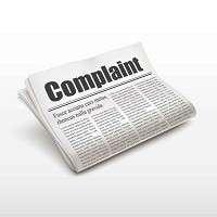 2  Complaint Letter Regarding : The Complaint of Washing
