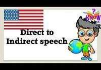 direct into indirect speech