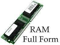 RAM Full-Form | What is Random Access Memory (RAM)