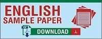 English sample / Model paper for class 10 with solution- Set 6- 2020