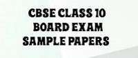 English sample / Model paper for class 10 Set 19- 2020