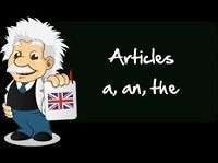 Article Grammar Exercise No.- 6