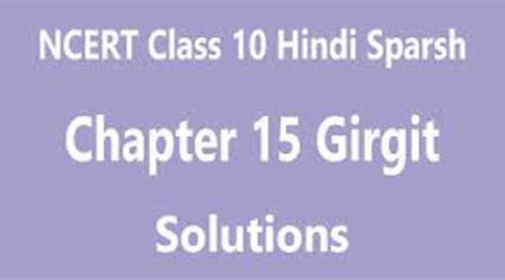 NCERT Solutions for Class 10 Hindi Sparsh Chapter – 14 गिरगिट