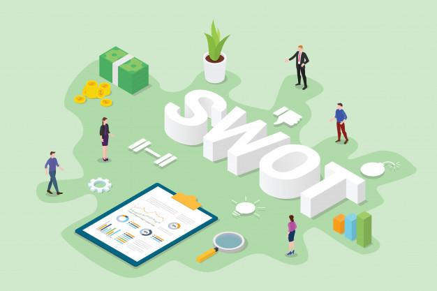 كيفية استخدام swot analysis لتحليل نقاط قوة وضعف شركتك ودراسة منافسيك