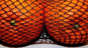 oranges like breasts